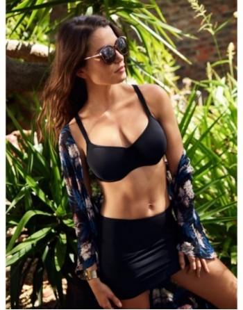 panache swim anya balconnet bikini beha grote cupmaten zwart