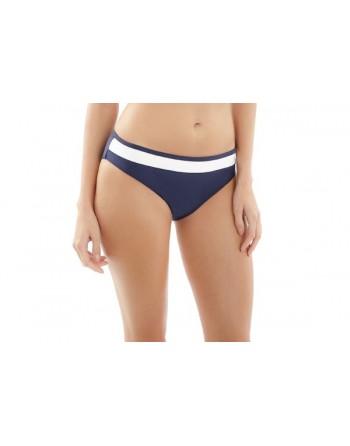 panache swim anya cruise bikini slip 34-46 navy/white