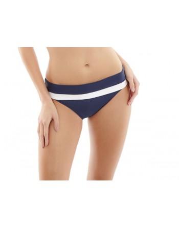 panache swim anya cruise bikini slip met omslag 34-46 navy/white