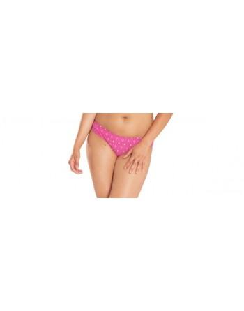 curvy kate swim revive lage bkini slip pink print