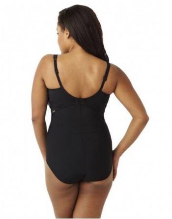Badpak Beugel.Panache Swim Silhouette Sw0790 Shapewear Badpak Zwart