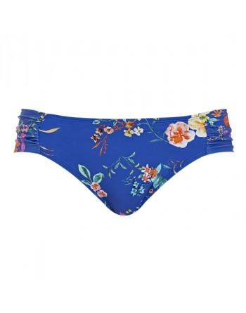 panache swim florentine bikini slip cobalt floral