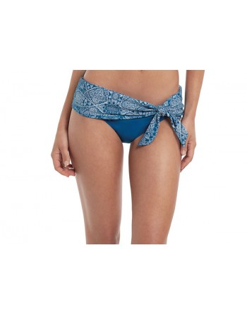 panache swim marisa bikini slip met omslag crochet print