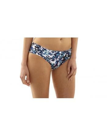 panache swim florentine bikini slip 44 blue floral