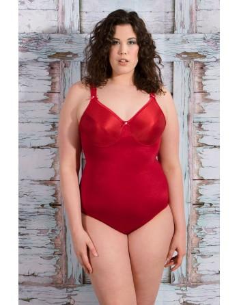 syl maia shapewear body grote maten 85g-100b rood
