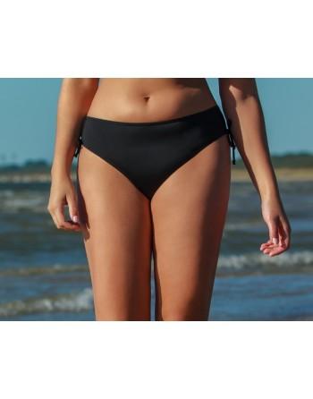 plaisir solid color tai bikini slip 40-50 zwart