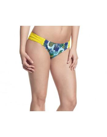 cleo swim carmen bikini slip 38 tropical print