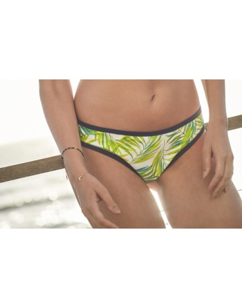 cleo swim avril bikini slip 42 palm print