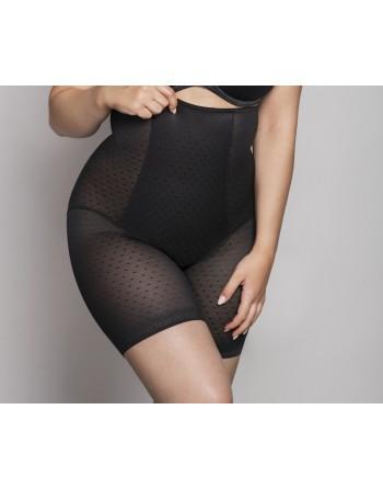 ulla dessous meghan shaping gaine slip hoge taille en lange benen 38-56 zwart