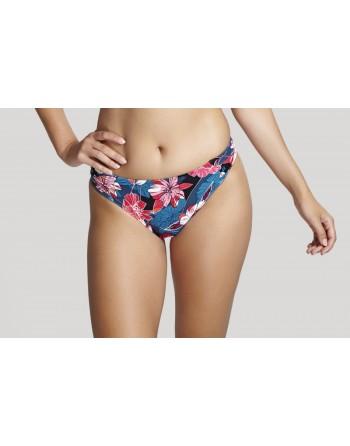 panache swim anya riva print bikini slip 34-46 blue floral